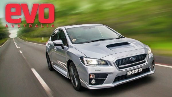 Subaru WRX from the cover of evo Australia issue 10