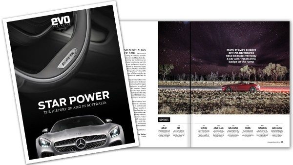 Star power: a history of AMG in Australia presented by evo magazine