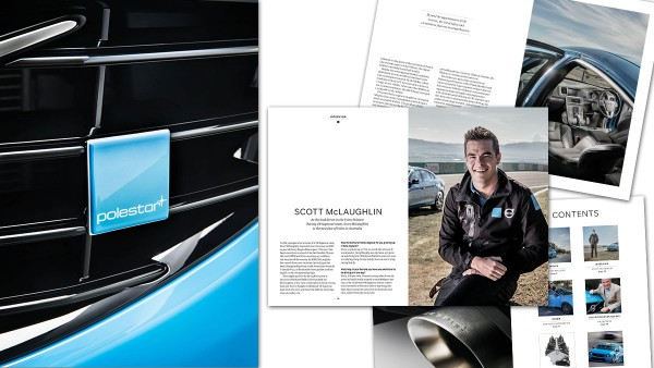Volvo Polestar magazine produced by MMN and evo Australia