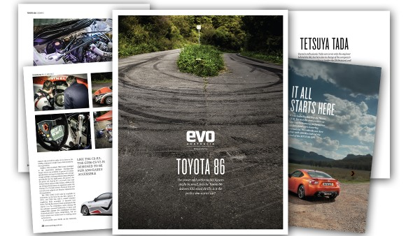 evo Australia Presents: Toyota 86 magazine